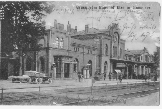Bahnhof Elze 1907