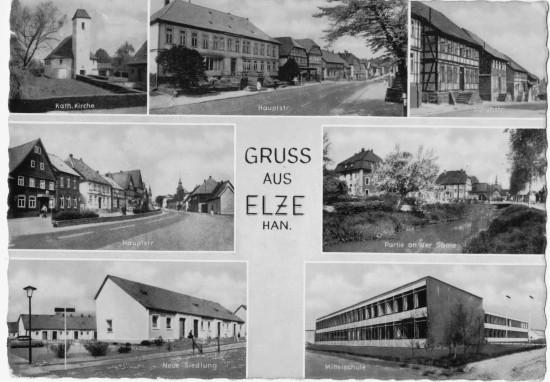 Schuhstraße Elze, Hauptstraße 22, Elze,  Hauptstraße 43 Biels Gasthaus, die Sehlder Straße 2  Amtsrichter Haus Ofenbau Strube.
