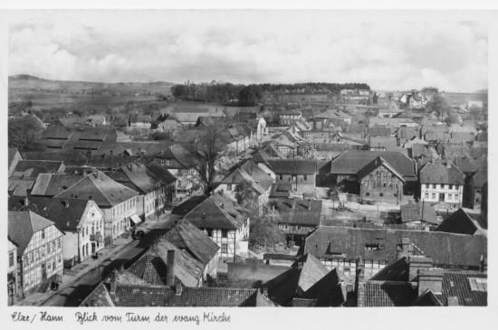 Hauptstraße Nordteil Elze Foto Staedt um 1950