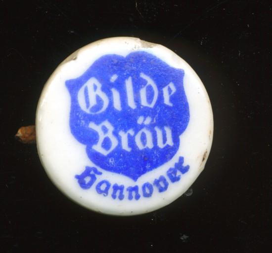 Bügelverschluss Bierflasche Gilde Bräu Hannover