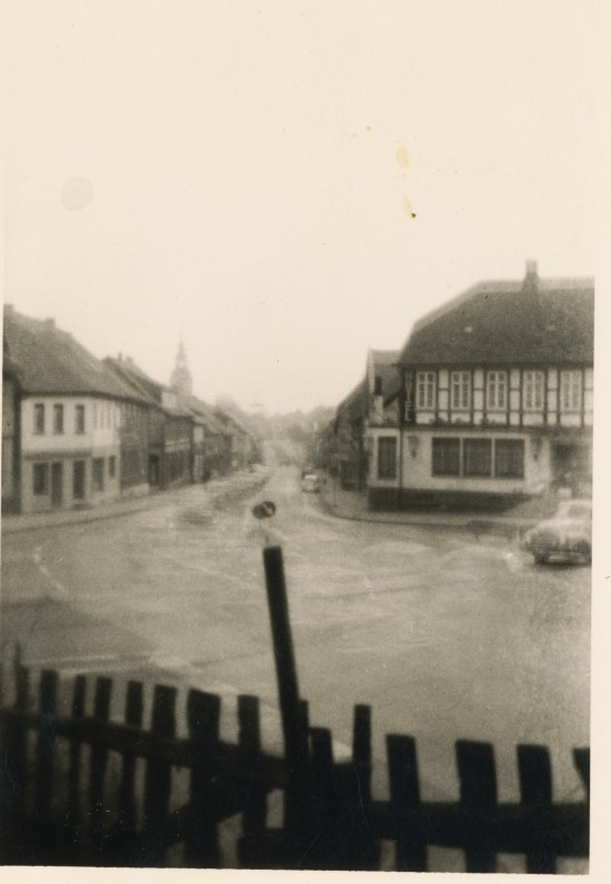 Dickkopfplatz Elze um 1955