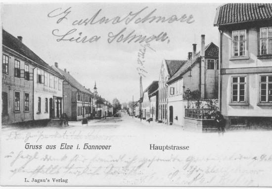 Hauptstraße Elze 1906