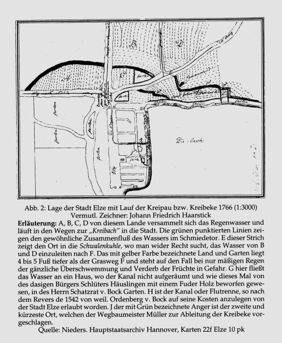 Elze Ortszentrum um 1766