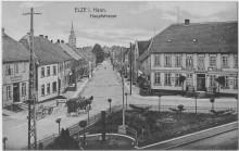 Dickkopfplatz Deutsches Haus Temme Hotel Cappuccino Elze AK von 1909