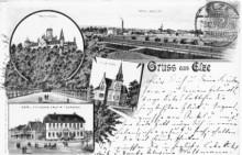 Elze Hotel Deutsches Haus C. Temme und die Villa Kern.
