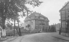 Haus Strube, rechts Amtsrichterhaus Elze (für Amtsgericht)