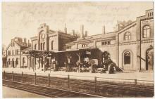 Bahnhof Elze Schienenseite