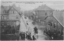 Bahnhofstraße Elze 1909