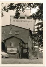 Bahnhofstraße 71, Elze, 1962, Foto von Ingenieur Büro Martin Schlüter, Hitzacker Elbe, Wagen: Auto Union