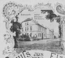 AK Mehransichtenkarte 1902 Hauptstraße 60 Elze