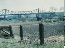 Eisenbahnbrücke Elze um 1955