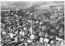 Luftbild Elze von Westen 1955