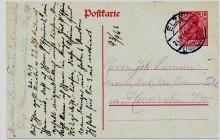 Karte von Seilermeister Louis Freise Elze an Joh Siemsen Hameln