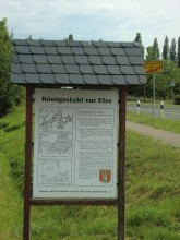 Königsstuhl Elze Gerichtsplatz