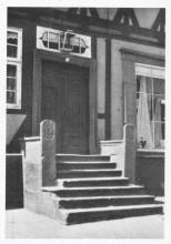 1939 fotografiert: Beischlagwange Hauptstraße 39 Elze