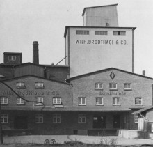 Bahnhofstraße 71, Elze, Getreidehandel Landhandel Brodthage 1964