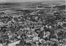 Elze Luftbild von Südwesten um 1964