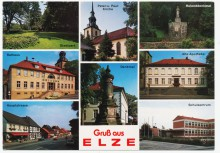 Ansichtskarte Elze um 1900