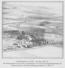 Pappenfabrik Woge Elze Luftbild von 1959