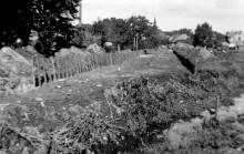Elze Saaledamm Richtung Norden 1952