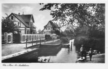 Elze Saaledamm Ecke Sehlder Straße Saaledamm Elze vor 1952 aufgenommen