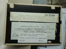 Beschriftung Heimatmuseum durch Ortheimatpfleger Fritz Kleuker Elze