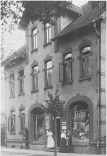 Bahnhofstraße 52 Elze um 1910