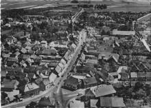 Luftbild Elze von Norden um 1955