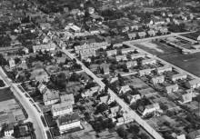 Luftbild Elze von Westen um 1960