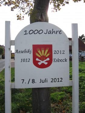 1000 Jahre Esbeck Stadt Elze