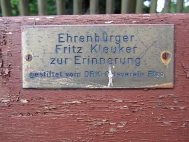 Mühlenstraße 14 Elze Fritz Kleuker