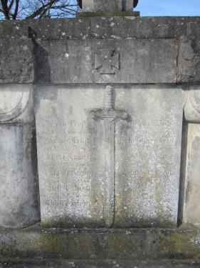 Denkmal Erster Weltkrieg Mehle Urbanus Kirche