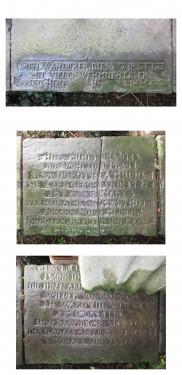 Enge Straße 2 Elze Grabplatte Huck Heinen