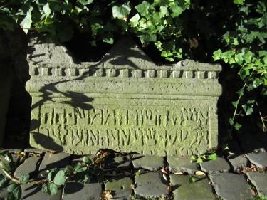 Grabstein Ehefrau von Joseph Stadthagen Elze