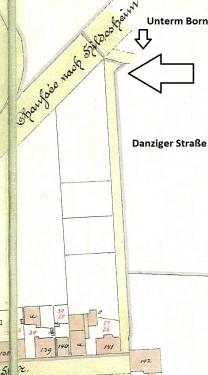 Grenzstein Danziger Straße 1 Elze