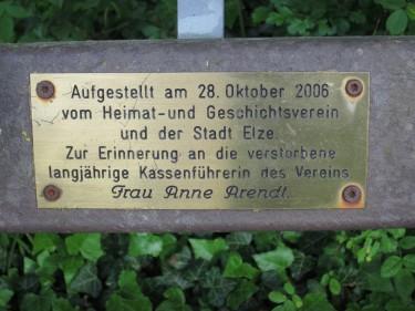 Elze Kendelke Mäusemutter Anne Arendt