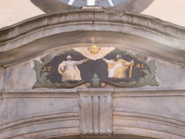 Peter und Paul Kirche Elze Turmeingang