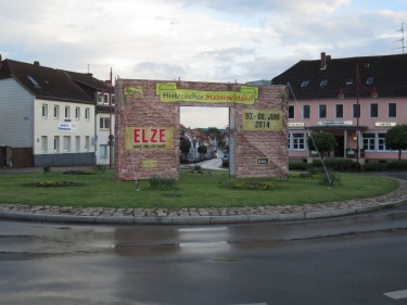 400 Jahre Elze Stadttor Stadtspektakel Werbung Dickopfplatz