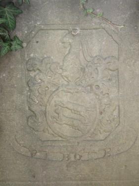 Grabplatte Bock von Wülfingen in Elze Sehlde