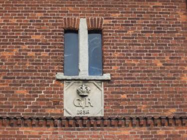 Wittenburg Elze Burgweg Wappenstein König Georg V von Hannover
