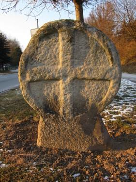 Scheibenkreuz Elze Ansicht vom Kreisverkehr Süden